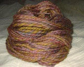 4 Colors -- handspun yarn, 78 yards