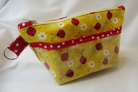 Ladybug Pocket Bag Reserved For Helga Marie