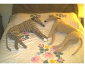 Life Size Greyhound PDF Crochet Pattern Instant Digital Download