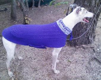 Greyhound Knitting Pattern Free : Popular items for greyhound sweater on Etsy