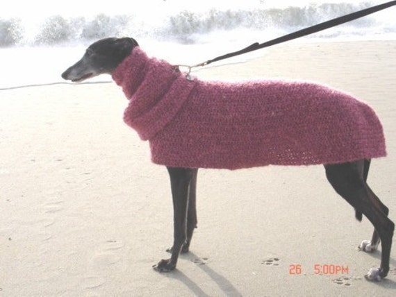 Items similar to Quick and Easy GREYHOUND Dog SWEATER ...
