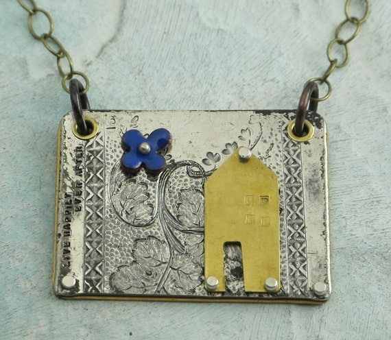 Happy House Necklace - by Kathryn Riechert