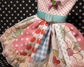 Frothy Gardenias Blythe Dress LIMITED EDITION