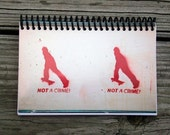 Not a Crime Notepad