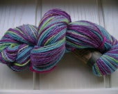 Extremely soft Handspun Hand dyed Corriedale