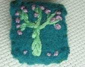 tiny tree pin
