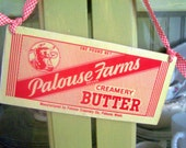 Vintage Dairy Advertisement    Wall Hanging