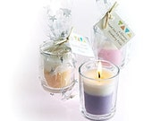 4 Elements premium soy candle Nag Champa scented votive gift