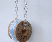 Alice Sewing in The Parlor necklace