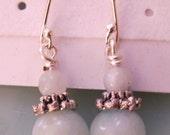 Amazonite New Jade Sterling Silver Earrings