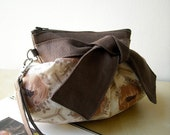 Maron - Zipper Pouch with Clip (New style)