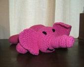 Stuffed Animal - Pink Elephant