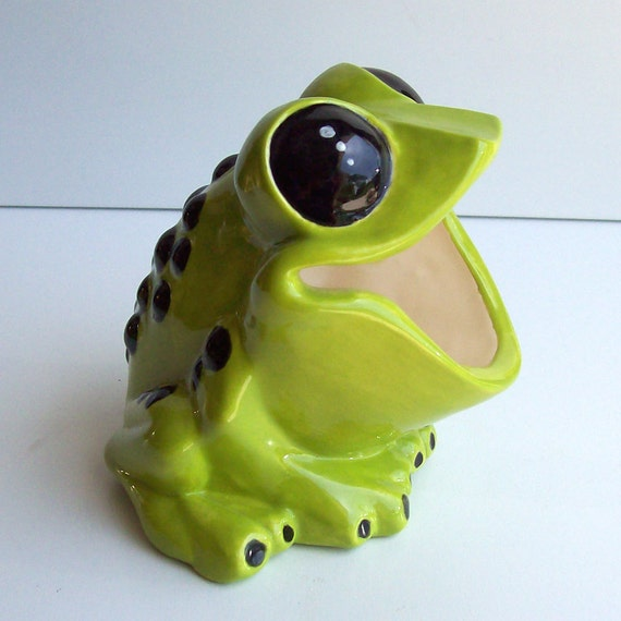 Frog Scrubby Holder Tree Frog Retro Home Sponge Holder Brillo