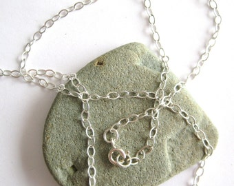 24 inch Necklace Chain for Pendants - Sterling Silver