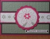 Happy Hellos Card