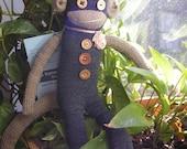 Charity Sock Monkey Prom Date