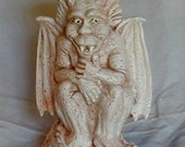 Halloween Gargoyle Plant or Candle Stand