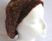 Recycled Silk Beret