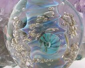 Barnacle Sea Reef Lampwork Focal Bead sra