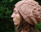 PDF Knitting Pattern - Skeleton Key Slouchie Tam