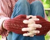 PDF Knitting Pattern - Fiona Fingerless Gloves