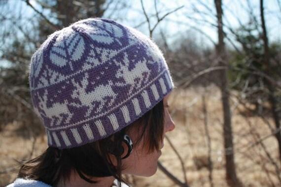 PDF Knitting Pattern - Printemps