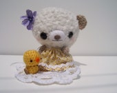Amigurumi Bear Daisy and Elmer