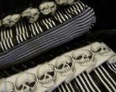 Small Skully\/Ruffle bags