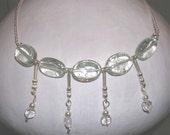 Semiprecious Sea-Inspired Stone Necklace