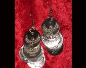 ISIS COIN EARRINGS for BELLY DANCE or SCA or REN FAIRE