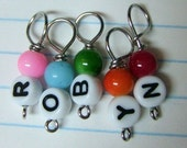 Personalized Name Stitch Markers - Names 6-8