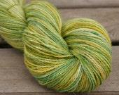 Foothills - Handpainted Angora Alpaca Wool Yarn 100 grams - Sock Fingering Hand Dyed