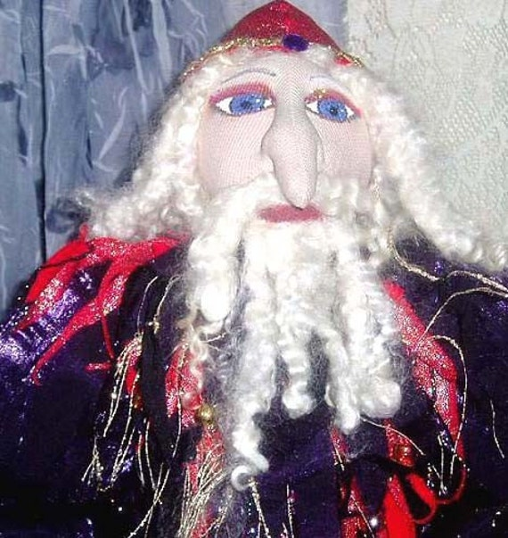 Art Doll- OOAK WIZARD, DANTE  22 inches (55cm) Tall