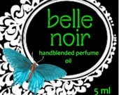 BELLE NOIR Perfume Oil coffee spice and chocolate