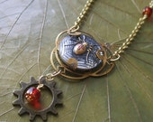 Splintered Steampunk Necklace