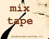 1ml MIX TAPE Handblended Perfume Oil Sample