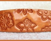 Copper Flowers Barrette
