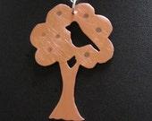 Bushfire Appeal - Bird in an Apple Tree Pendant  100percent of Sale to Red Cross Appeal