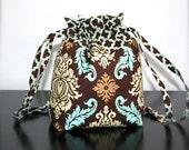 Drawstring Bag With Pockets Joel Dewberry / AVIARY 2