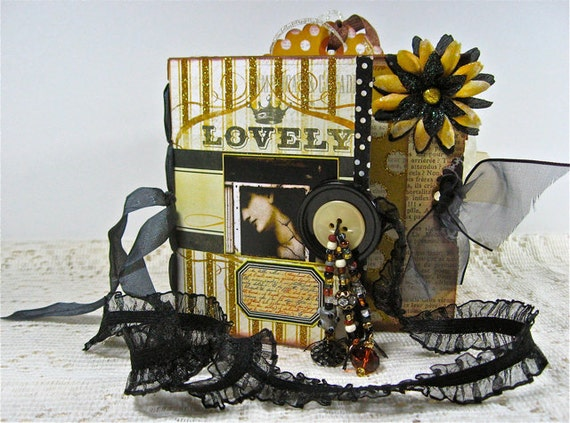 LOVELY - Paper Bag Memory Album