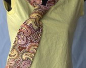 RESERVED  In Knots... A New Shirt w Vintage Tie