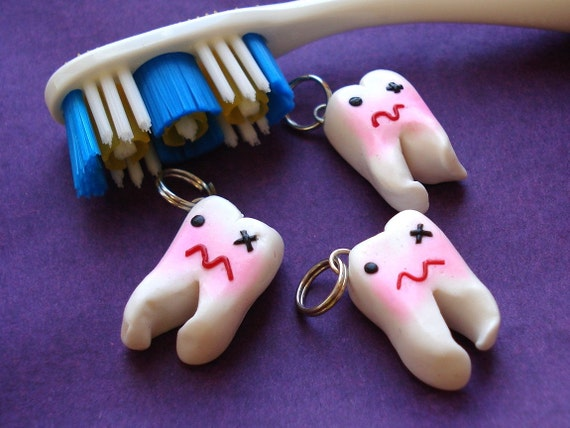 Cute Impacted Wisdom Tooth Charm