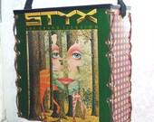 Styx The Grand Illusion Record Album Tote Bag