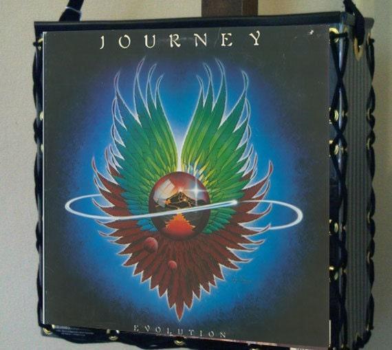 "Journey ""Evolution"" Record Album Cover Tote Bag"
