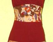 Cayenne reversible halter apron