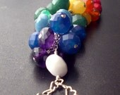 Faceted Chakra Necklace