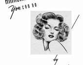 Hairstyles Book Swing Era Illustrated Glamorous 1940s