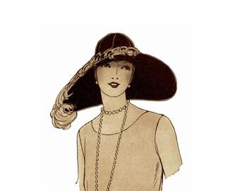 Flapper Era Millinery Book Make Hat Trims Making Trimmed Hats 1928