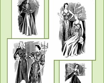 1940s 40s Haslam Draft Pattern Making Book No: 8 (Sewing Drafting) DIY Swing Era Dress Fashions