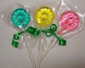6 Flower Hard Candy Lollipops